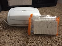 Prince lionheart wipe warmer with 3 new pads Edmonton, T5Y 0S9