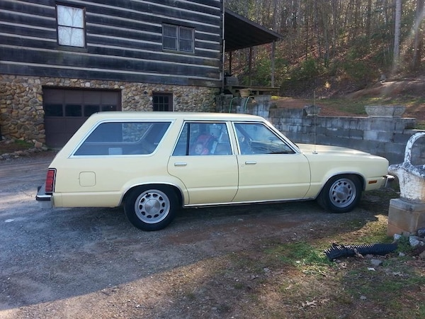 Ford Fairmont For Sale >> 1981 Ford Fairmont Station Wagon