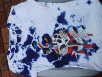white and blue crew-neck shirt Holtsville, 11742
