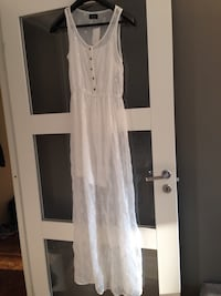 Maxi white dress (with tag) Oslo, 0275