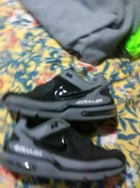 pair of black-and-white Nike basketball shoes Waco, 76701