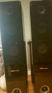 Pok acoustics tower speakers Edmonton, T5X 2M6