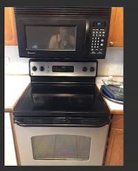 Black and gray microwave oven Edmonton, T5X 6B7
