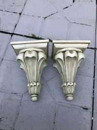 2 Antique curtains holder  Bristow