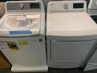 Brand new Lg top load washer dryer set with 1 year warranty  Manassas