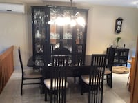 Black lacquer dinning room.....can sell separately  Montréal, H1E