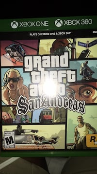 San Andreas Xbox one and Xbox 360