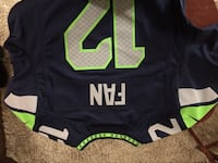 black and green Nike NFL jersey Everett, 98201