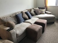 gray fabric 3-seat sofa Orlando, 32825