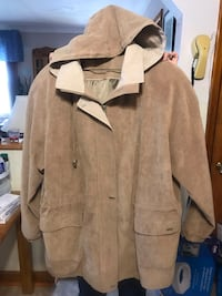 Ladies Micro Suede Coat Brantford