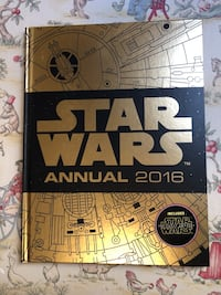 New Disney Star Wars Annual 2016 Storybook (the force awakens)  Mississauga, L5E 1X9