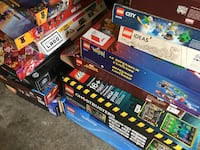 LEGO instruction manuals and boxes.  ( no legos included ) Tacoma, 98465
