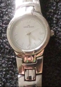 round silver-colored chronograph watch with link bracelet Seattle, 98104