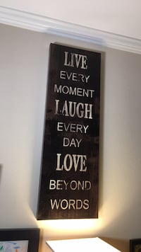 Live Every moment motivational painting Irvine, 92602