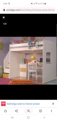 Loft Bed with Study Station- Berg Furniture Ashburn, 20147