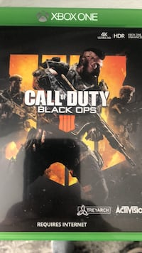 Black OPs 4 xbox one Adamstown, 21710