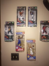 NFL and NBA vinyl figure collection
