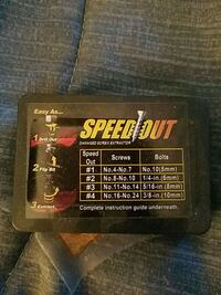 Speed out striped tread screw remover Bakersfield, 93313