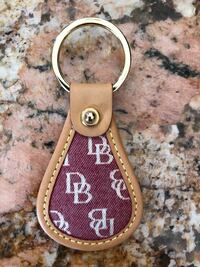 Dooney & Bourke Leather keychain, brand new Centreville, 20121