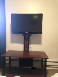 Flat Panel TV stand w/ Integrated Mount New York, 11367