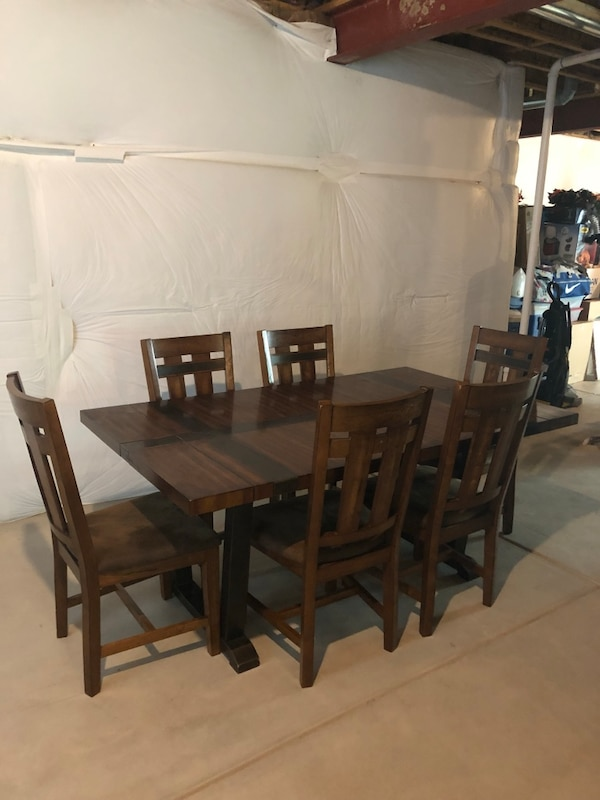 Superb Dining Room Table And 6 Chairs Uwap Interior Chair Design Uwaporg