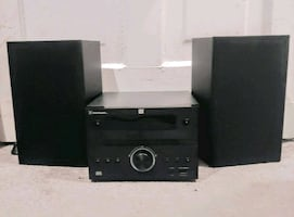 BLACKWEB BLUETOOTH HOME STEREO