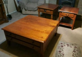 Ethan Allen living room tables