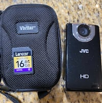 JVC Picsio HD video recording and photos