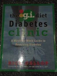 The G.I Diet Diabetes Clinic book Toronto, M5T 2H9