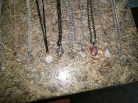assorted gemstone pendants Peterborough, K9J 8S5