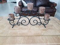 black metal candle holder with candle holders Calgary, T3A 5C5