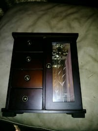 black and brown wooden cabinet Taylor, 48180