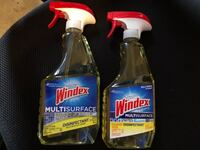 2 Windex glass cleaners Silver Spring, 20905