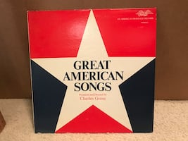 American songs vinyl record