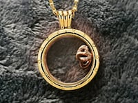 round gold and silver pendant San Jose, 95116