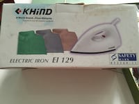 White and green tefal clothes iron box Hougang, 536008