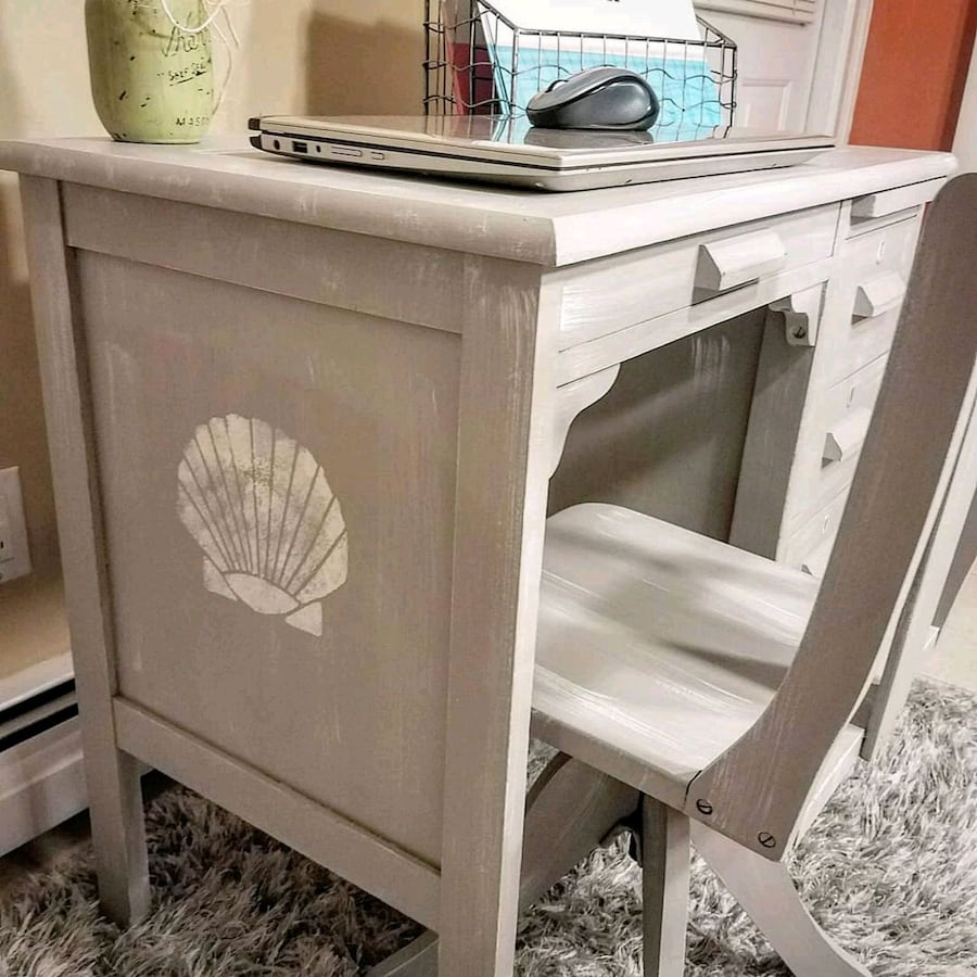 Vintage Childrens Desk or Vanity