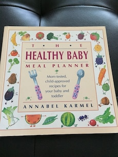 The Healthy Baby Meal Planner by Annabel Karmel