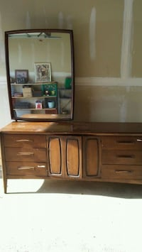 brown wooden dresser with mirror Brainerd, 56401