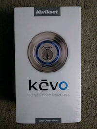 Kevo kwikset touch screen deadbolt blue tooth lock Kent, 98030