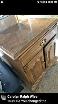 brown wooden 1 drawer 2 Doors below Kearneysville, 25430