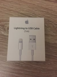 Apple lightning usb kablosu kutusuna