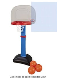Toddler Child Basketball Set - Little Tikes - for 1 1/2 to 5 years New York