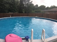 27x52 above ground swimming pool Madisonville, 42431