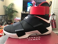 Brand new Sz 12 Lebron Soldier 10. Never been worn or tried on. Authentic