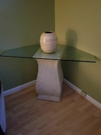 Very heavy collectable corner table with a bamboo  Fairhope, 36532