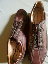pair of brown leather shoes Columbus, 31904