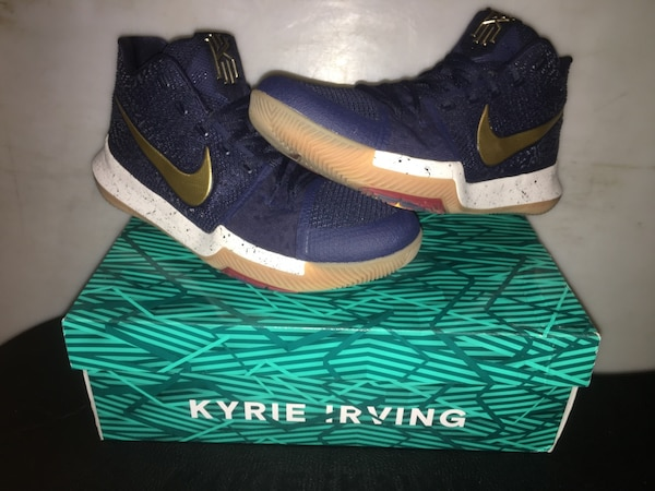 "new style 348ff 440c8 Nike Kyrie 3 ""Obsidian"" MEN'S SIZE 12"