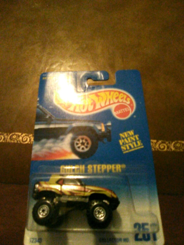 1991 gulch stepper die cast car