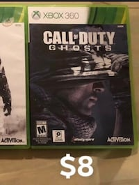 Call of Duty Ghosts Xbox 360 game  South Elgin, 60177